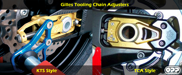 gilles tooling chain adjusters comparison between KTS chain adjuster and TCA chain adjuster