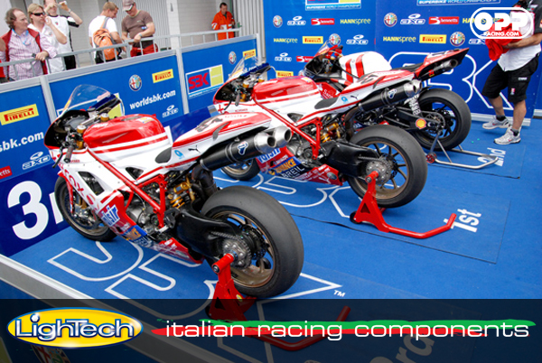 LighTech motorcycle front & rear stands - used in world superbike!