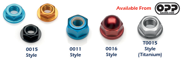 LighTech Anodized Nuts