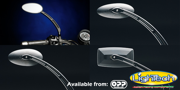 LighTech street fighter aluminum mirrors available from oppracing