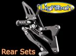 LighTech rear set for motorcycles. used extensive as world  superbike rear sets
