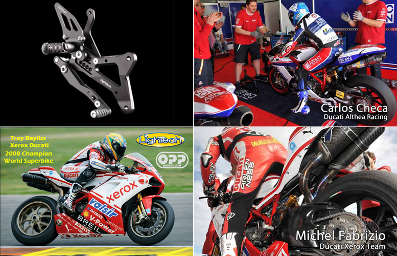 lightech sponsors troy bayliss world superbike champion