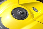 LighTech gas cap / locking gas cap for motorcycles