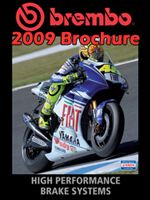 2009 brembo brochure mini catalog