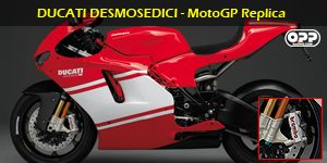Ducati Desmosedici come stock with brembo brakes