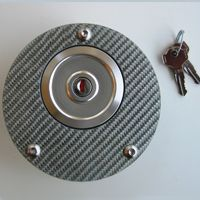 TWM locking carbon gas cap